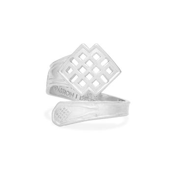 Endless Knot Spoon Ring