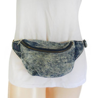 80s Fanny Pack 90s Fanny Pack Bum Bag Denim Fanny Pack Jean Bag 90s Bag 90s Accessories Little Bag Hipster Bag 90s Accessories 90s Party