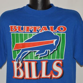 80s Buffalo Bills Logo t-shirt Large