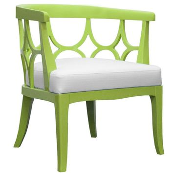 Campbell Chair Lime Green