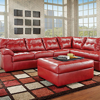 Angelo Bay 2 Pc Cardinal Sectional