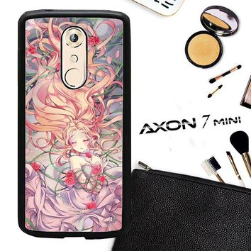 Anime Rose Girl L1369 ZTE AXON 7 Mini Case