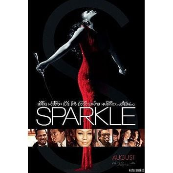 Sparkle Movie poster Metal Sign Wall Art 8in x 12in