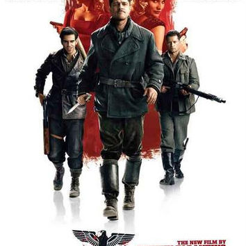 Inglourious Basterds Movie Poster 11x17