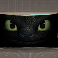 How To Train Your Dragon Toothless 3D rectangle pillow case, pillow cover, cute and awesome rectangle pillow covers