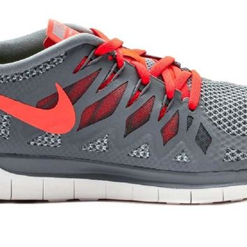 Nike Men's Free Trainer 5.0 V6 Training Shoe Orange and grey 14 D(M) US '