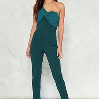 Pleat to Meet You Jumpsuit