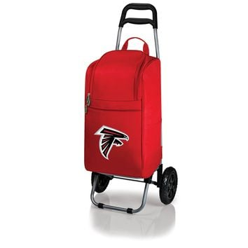 Atlanta Falcons - Cart Cooler with Trolley (Red)