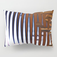 Bright Grid Pillow Sham by Stephen Linhart