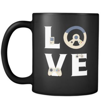 Gamer / Video Game - LOVE Gamer / Video Game  - 11oz Black Mug