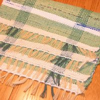 Placemats Set of 4 hand woven from plastic grocery bags
