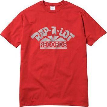 Supreme Rap-A-Lot Records Tee - Red