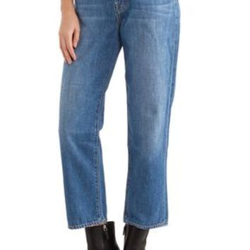 Ivy high-rise cropped straight-leg jeans | J BRAND | Sale up to 70% off | THE OUTNET