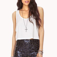 Staple Flared Crop Top