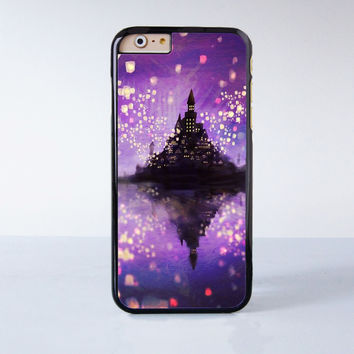 Tangled Castle  Plastic Phone Case For iPhone 6  More Style For iPhone 6/5/5s/5c/4/4s iPhone X 8 8 Plus