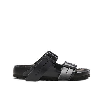 Rick Owens x Birkenstock Arizona Sandals in Black | FWRD