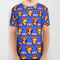 Eat me-Pizza All Over Print Shirt by Oh Wow!