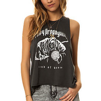 The Hand Of Doom Tank in Dusty Black
