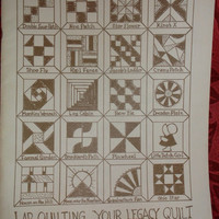 Lap Quilting Your Legacy by Georgia J. Bonesteel Revised Edition 1979
