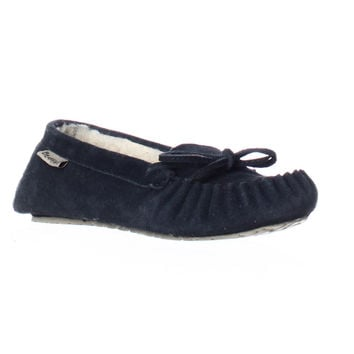 Bearpaw Astrid Casual Moccasins - Navy
