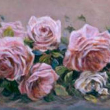 """Pink and White"" Susan Rios Keepsakes 4 x 12"