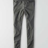 AEO Sateen X Jegging , Gray