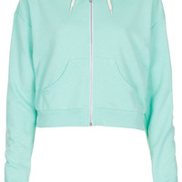 Crop Zip Hoody - New In This Week - New In - Topshop