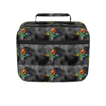 GFY Black and Gray lunch box
