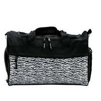 Releve Gear Zebra Dance Duffle Bag Personalized Large Dance Bag  Recital Ballet Dufflebag Christmas Gift  Birthday Gift