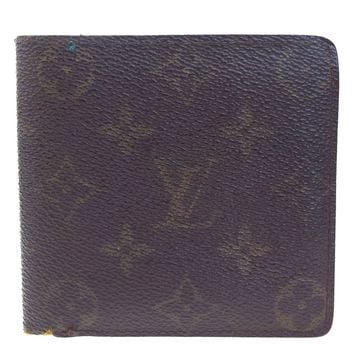 Auth LOUIS VUITTON Marco Bifold Wallet Purse Monogram Leather BN M61675 08EC491