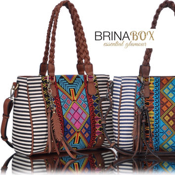 Free Soul Braided Satchel