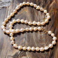 Baroque South Sea Pearl Necklace