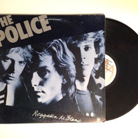 LP Album The Police Reggatta De Blanc Rock Alternative 1979 Message In A Bottle