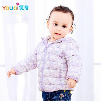 YOUQI Unisex Baby Clothes Winter Jacket For Girls Duck Down Jacket Coat Boys Children Clothes Kids Snowsuit Parka Outfit Suit