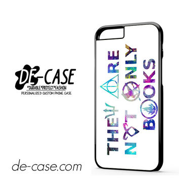 They Are Not Only Books Harry Potter The Hunger Games For Iphone 6 Iphone 6S Iphone 6 Plus Iphone 6S Plus Case Phone Case Gift Present