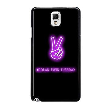 DOLAN TWIN TUESDAY Samsung Galaxy Note 3 Case Cover