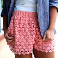 Crochet in Peach {Short}