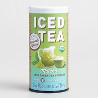 The Republic of Tea Matcha Coconut Water Iced Tea 8 Count