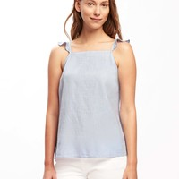 Relaxed Flutter-Sleeve Cami for Women | Old Navy