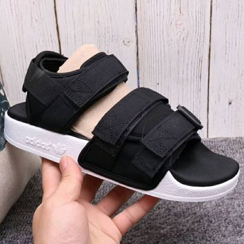 Adidas Fashion Women Men Summer Cool Breathable Magic Stick Sandals Slipper Shoes Black I-A36H-MY