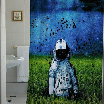 deja entendu shower curtain that will make your bathroom adorable