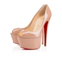 Jamie 160mm Nude Patent Leather