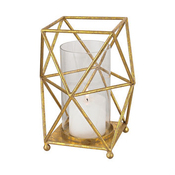 Sterling Hexagonal Prism Hurricane   Overstock.com Shopping - The Best Deals on Candles & Holders