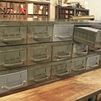 Industrial Metal File Cabinet | Second Shout Out, Vintage Marketplace