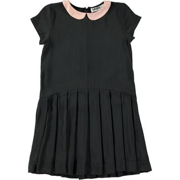 Molo Girls' Black CARMA Dress