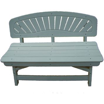 Perfect Choice Outdoor Furniture Classic Bench - TROPICAL COLORS
