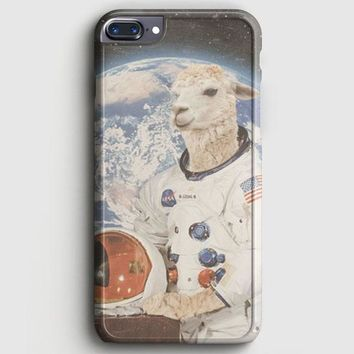 Astronaut Llama Space iPhone 8 Plus Case