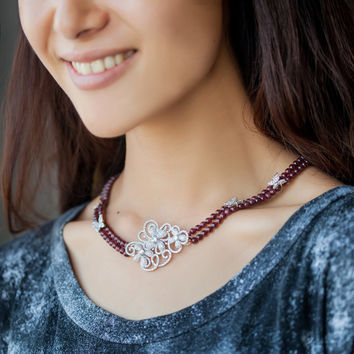 Gift New Arrival Jewelry Shiny 925 Silver Double-layered Chain Stylish Accessory Necklace [4914861828]