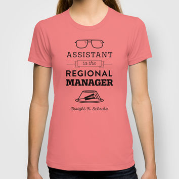 The Office Dunder Mifflin - Assistant to the Regional Manager T-shirt by Noonday Design