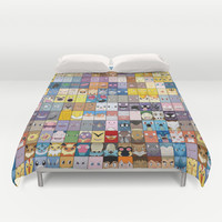 The Pokemon First Generation Duvet Cover by Jorden Tually Art | Society6